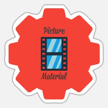 Picture Picture Material - Sticker