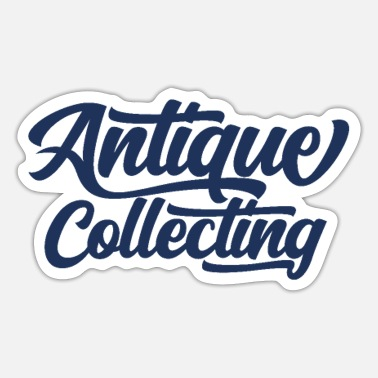 Antique Dealers Antiques antiques antiques - Sticker