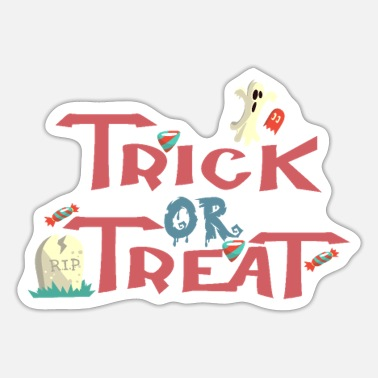 Trick Or Treat Trick-or-Treat - Naklejka