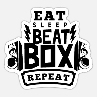 Proud Beatboxer Beatbox - Sticker