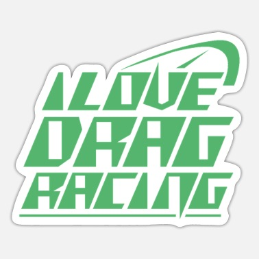 Race Car Racing Car Racing Car Racing Car Racing - Sticker
