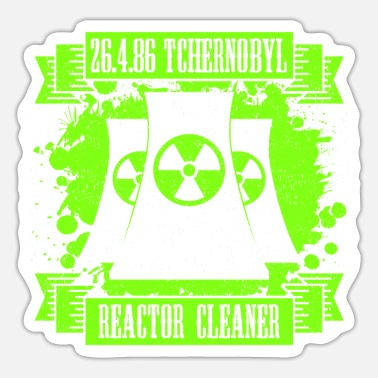 Reactor Tchernobyl 26.04.86 Reactor Cleaner Men's T-Shirt - Sticker