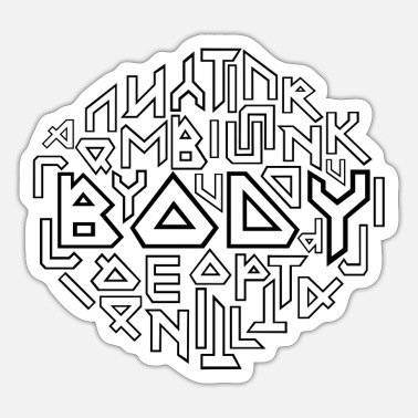 Body body - Sticker