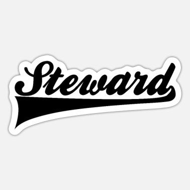 Steward Steward - Sticker