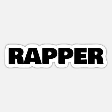 Rapper Rapper - Sticker