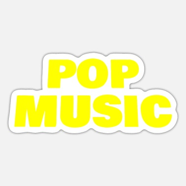 Pop Music Pop Music - Sticker