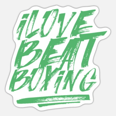 Beatbox Beat BeatboxeR Beatboxing Beatbox Music - Sticker
