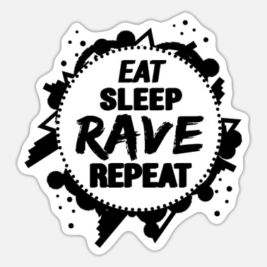 Rave rave - Sticker