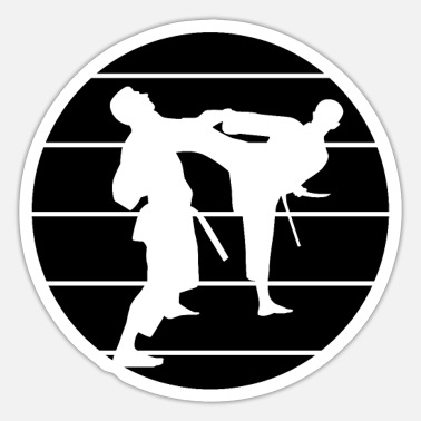 Martial Artists martial artists - Sticker