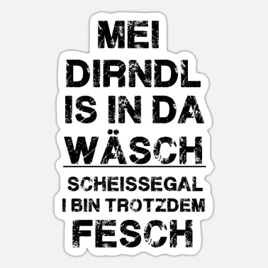 Dirndl dirndl - Sticker