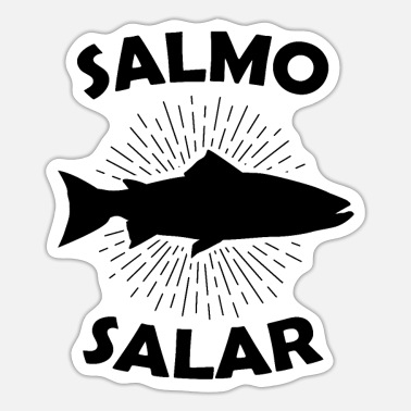 Brothel Salmo Salar Atlantic Salmon Gift Salmonide - Sticker
