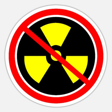 Castor Transport Anti nuclear power Nuclear power stations Nuclear energy Atomic energy - Sticker