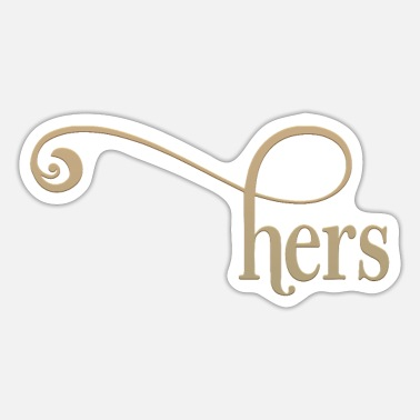 Herre Hers - Sticker
