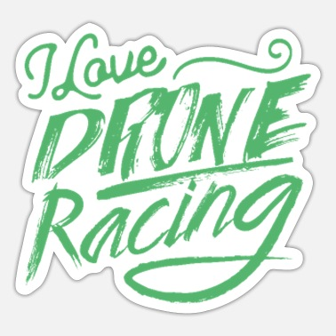 Race Drone racing race pilot race - Sticker