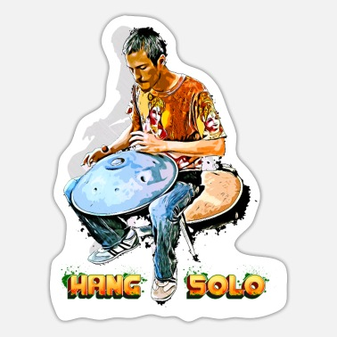 Hung Drum Hang Solo - Sticker