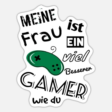 Gamer Gamers, gamers - Sticker