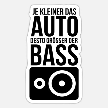 Tuning Tuning - Sticker