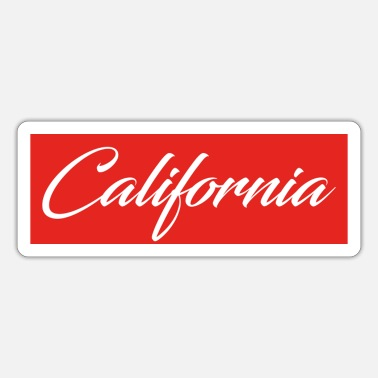 Californië Californië - Sticker