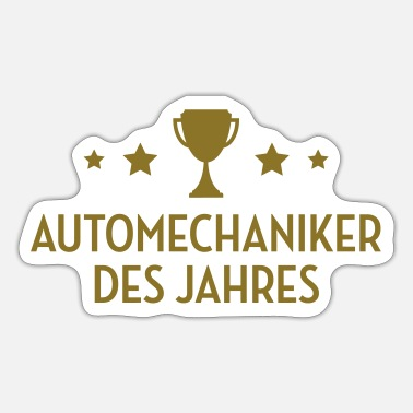 Instandsetzung Automechaniker Mechaniker Garage Auto Karosserie - Sticker