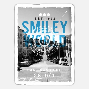 Officialbrands Smileyworld 'San Francisco' - Tarra