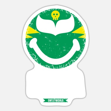 Officialbrands SmileyWorld Green Luchador - Tarra