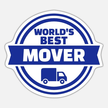 Movers Best mover - Sticker