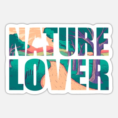 Nature Lovers Nature lovers - Sticker