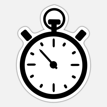 Clock clock - Sticker