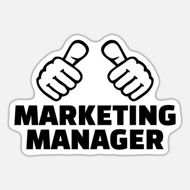 Marketing Manager Marketing manager - Sticker