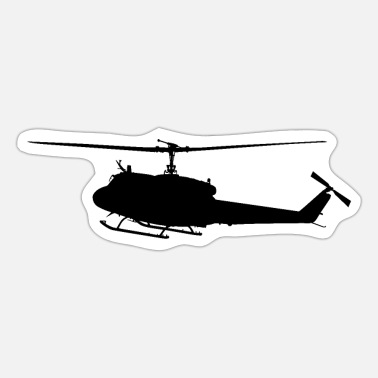Sars Army Bundeswehr SAR 63 Helicopter, helicopter - Sticker