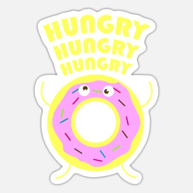 Hungry hungry - Sticker