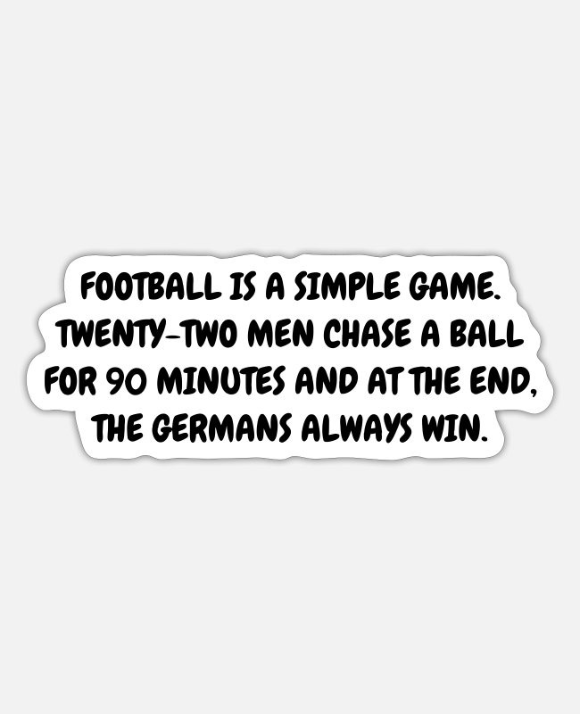 Whistle Stickers - Football - Fußball - Fútbol - Calcio - Foot - Cool - Sticker white mat