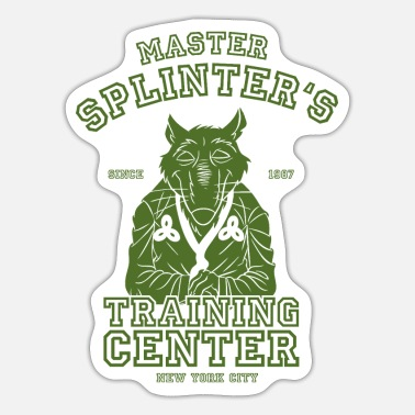 TMNT Master Splinter - Sticker