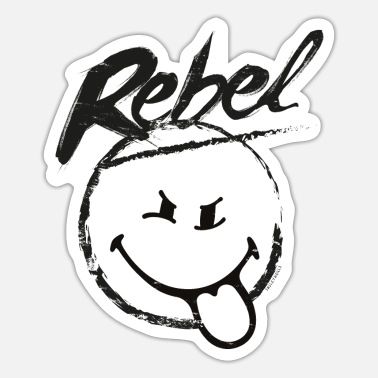 Kinderen SmileyWorld Rebel - Sticker