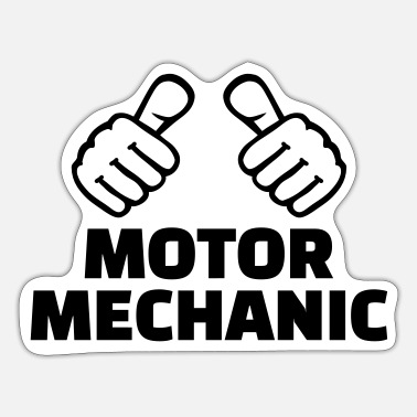 Motor Motor mechanic - Sticker