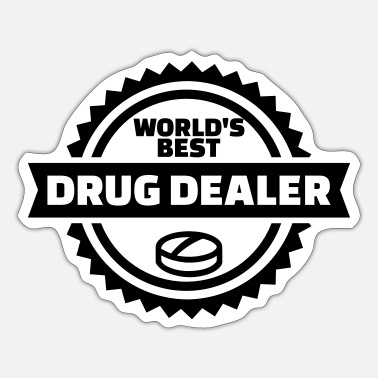 Dealer Drug dealer - Sticker