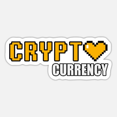 Valuta crypt valuta - cryptocurrency - Sticker
