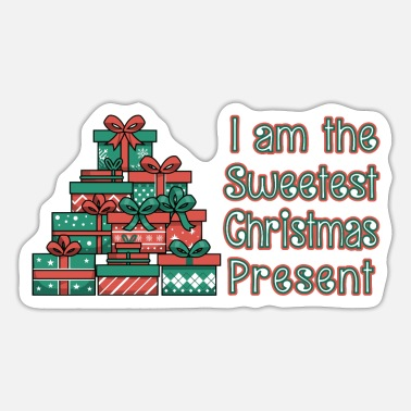 Christmas for kids I Christmas baby sayings - Sticker