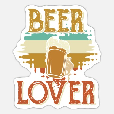 Beer Tent Beer beer lover beer tent drinking - Sticker