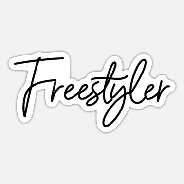 Freestyle Freestyler Freestyle - Sticker