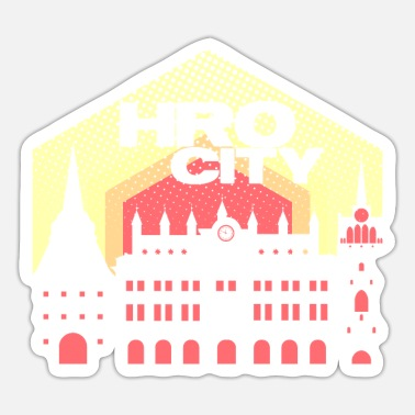 Hro Rostock HRO City - Design - Sticker
