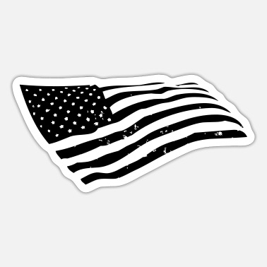 Us US Flag - Sticker