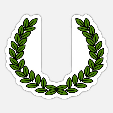 Laurel Wreath laurel wreath - Sticker