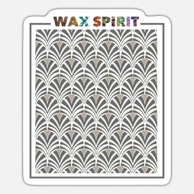 Waxe Gray Wax - Sticker