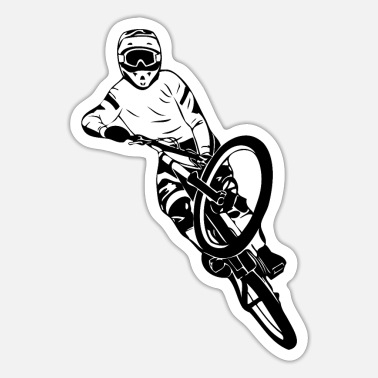 Mtb MTB - Mountainbiking - Downhill - BMX - Sticker