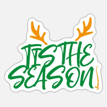 Ties tis the season - Sticker