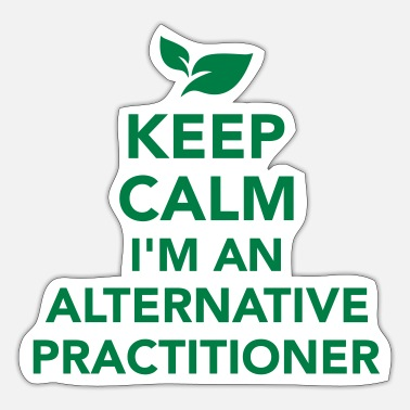 Alternative Alternative practitioner - Sticker