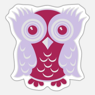 Owl OWL OWL - Sticker