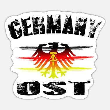 East Germany Germany East GDR - Sticker