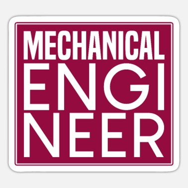 Mechanical Engineering mechanical engineering - Sticker